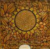 013_Tingatinga_painting_36x36cm_DAVID_MZUGUNO2_yellow_ex