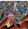 027_Tingatinga_painting_87x86cm_SAIDI_OMARY_det