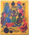 Tingatinga_painting_SAYUKI_Aurnhammer_27x33cm