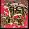 tingatinga_painting_leopards_HASSANI_75x75cm